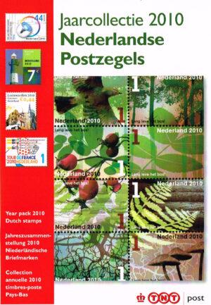 Nederland 2010 boekje Jaarcollectie 2010 Nederlandse Postzegels
