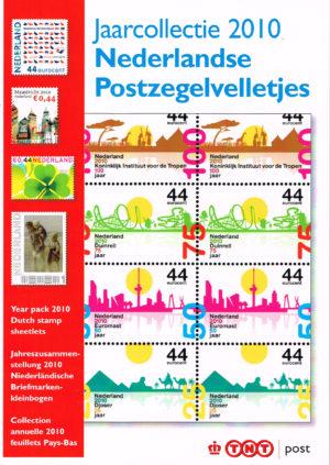 Nederland 2010 boekje Jaarcollectie 2010 Nederlandse Postzegelvelletjes