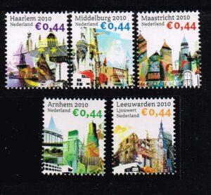 Nederland 2010 mooi Nederland NVPH 2695a 2696a 2714a 2715a 2718a