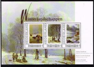 Nederland 2011 Persoonlijke postzegel Winterlandschappen