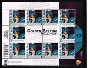 Nederland 2011 persoonlijke postzegel Nederlandse popgeschiedenis Golden Earing Moontan