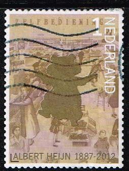 Nederland 2012 125 jaar Albert Heijn gestempeld NVPH 2907