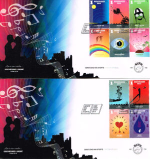 Nederland 2015 FDC 50 jaar Nederlandse top 40 onbeschreven E706 (2)