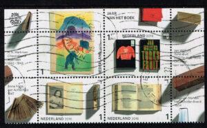 Nederland 2016 Jaar van het boek gestempeld NVPH 3452-3455