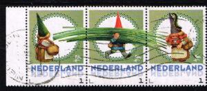 Nederland 2016 persoonlijke postzegels uit vel De Kabouter gestempeld