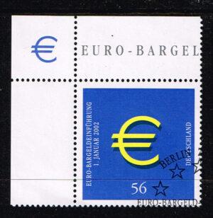 Deutschland (BRD) 2002 Einführung Euromünzen gestempelt Michel Nr 2234