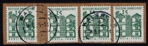 Duitsland (BRD) 1964 Freimarken Deutsche Bauwerke gestempeld Michel nr 455