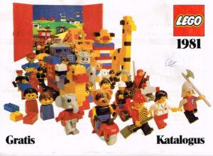Lego Katalogus 1981 Nederlands