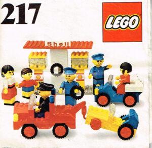 Lego Legoland 217 Shell service station