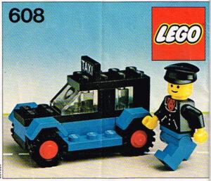 Lego Legoland 608 Taxi