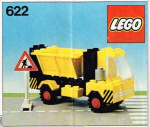 Lego Legoland 622 zandauto