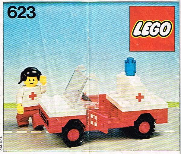 Lego Legoland 623 Rode Kruis auto set