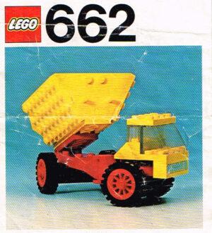Lego Legoland 662 kiepwagen