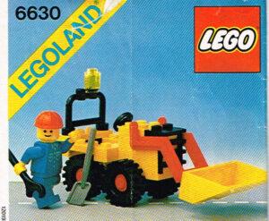 Lego Legoland 6630 bulldozer