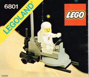Lego Legoland 6801 ruimte buggy