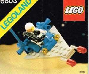 Lego Legoland 6803 Space Patrol