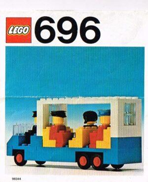Lego Legoland 696 set bushalte