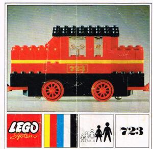 Lego Legoland 723 Diesel locomotief
