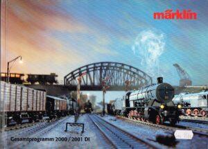 Märklin 15100 Katalog 2000/2001 Deutsche Ausgabe EAN 4001883151007
