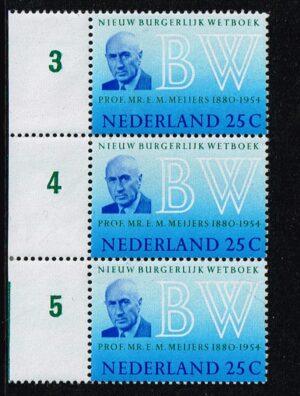 Nederland 1970 Nieuw Burgerlijk Wetboek NVPH 963
