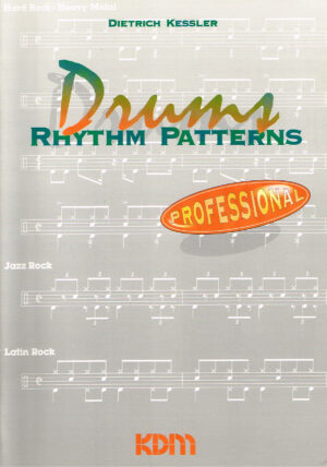 Dietrich Kessler - Drums Rhythm Patterns KDM Verlag 1994