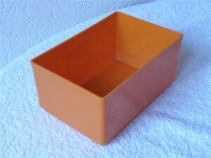 Onderdelenbakjes Esmeijer type EMM 7524 oranje stapelbaar