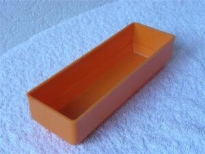 Onderdelenbakjes Esmeijer type EMM 3548 oranje stapelbaar
