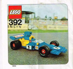 Lego Legoland 392 raceauto