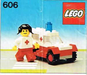 Lego Legoland 606 ambulance