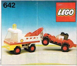 Lego Legoland 642 kraanauto met buggy set