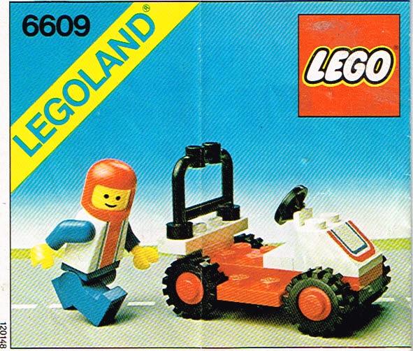 Lego Legoland 6609 race wagen