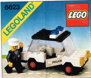 Lego Legoland 6623 politieauto