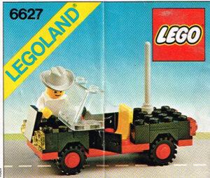 Lego Legoland 6627 automobilist