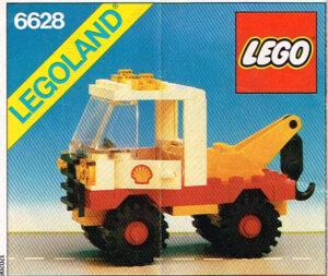 Lego Legoland 6628 Shell hijstruck