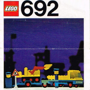 Lego Legoland 692 wegwerkers