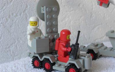 Lego Legoland 897 ruimte lanceer voertuig