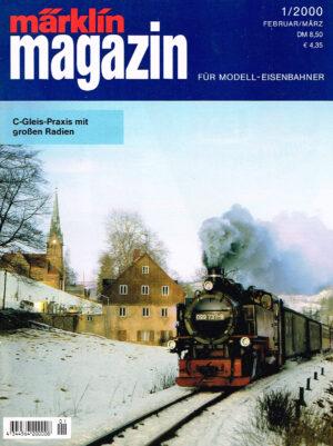 MÄRKLIN Magazin - für Modell-Eisenbahner 01-2000 4344564 200008 01
