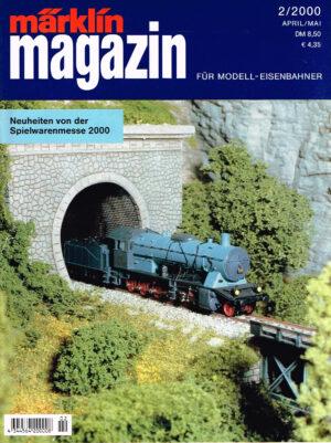 MÄRKLIN Magazin - für Modell-Eisenbahner 02-2000 4344564 200008 02