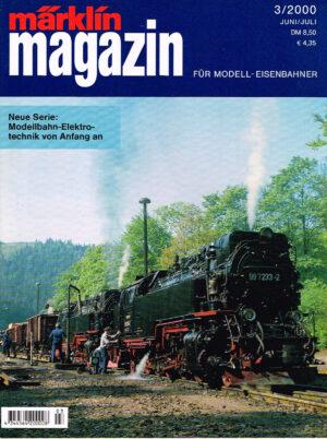 MÄRKLIN Magazin - für Modell-Eisenbahner 03-2000 4344564 200008 03