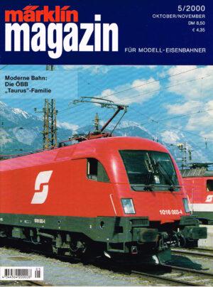 MÄRKLIN Magazin - für Modell-Eisenbahner 05-2000 4344564 200008 05