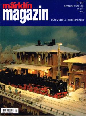 MÄRKLIN Magazin - für Modell-Eisenbahner 06-1999 4344564 200008 06