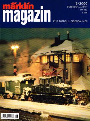 MÄRKLIN Magazin - für Modell-Eisenbahner 06-2000 4344564 200008 06