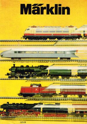 Märklin 1975 D Modellbahn-Katalog Deutsche Ausgabe mit Preisliste