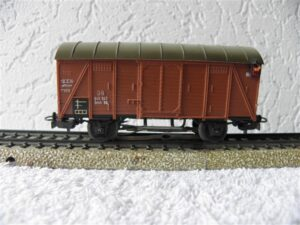 Marklin H0 4506 gesloten goederwagon met achterlicht