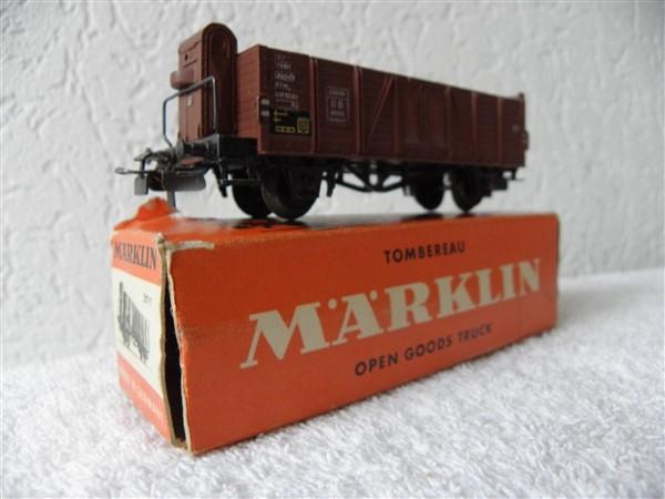 Marklin H0 4601 311/1 open goederwagon met stuurhuis