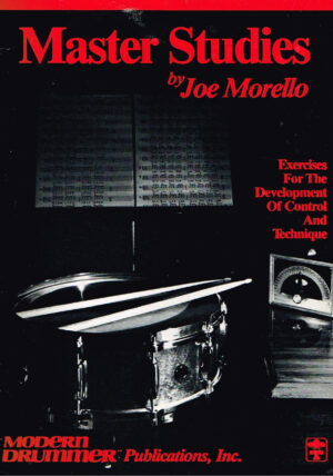 Master Studies by Joe Morello Modern Drummer HL06631474