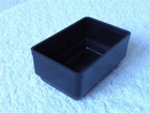 Onderdelenbakjes Esmeijer type EMM 3596 zwart stapelbaar antistatisch