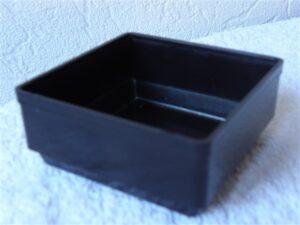 Onderdelenbakjes Esmeijer type EMM 3564 zwart stapelbaar antistatisch