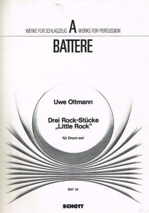 Uwe Oltmann Drei Rock Stucke Litte Rock fur Drum Set