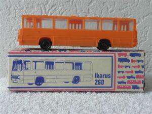 VEB Berlinplast H0 1:87 Modell IKARUS 260 LKW Bus